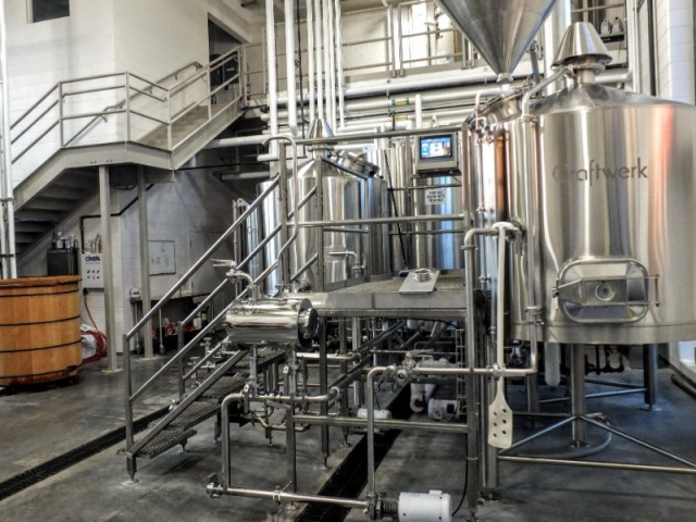 Perrin Brewing brewhouse
