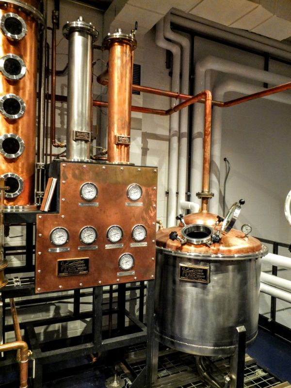 New Holland distillery
