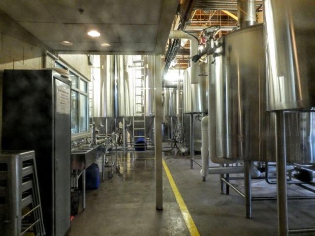 Brewery Vivant brewhouse