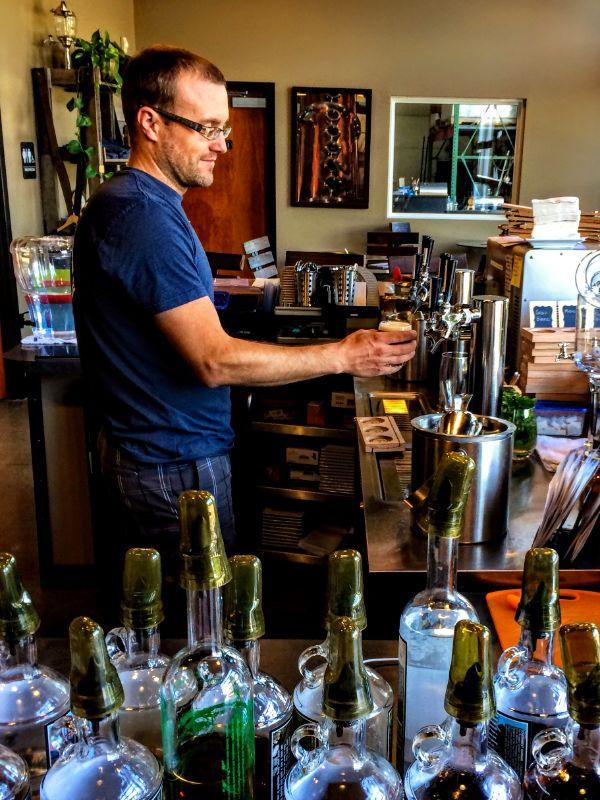 Bier Distillery taproom