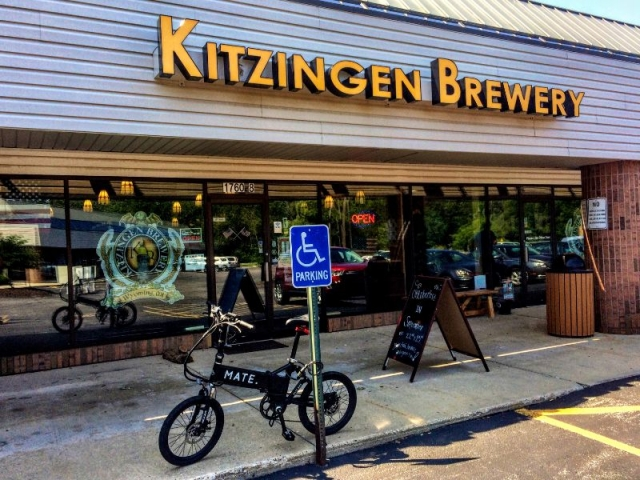 Kitzingen Brewery along the ride in Wyoming