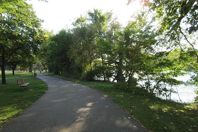 along the Grand River Edges Trail