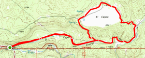 El Cajete Canyon Loop