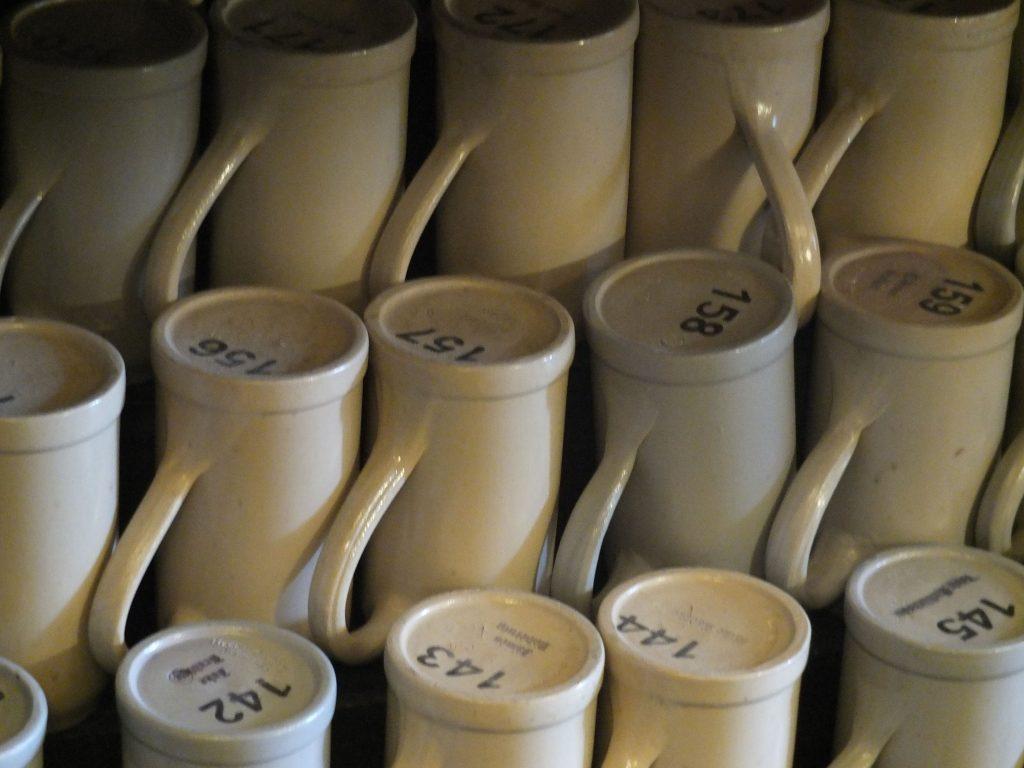 Old German Beer Hall - regular's mugs