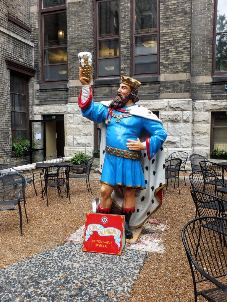 Gambrinus, King of Lager at Best Place