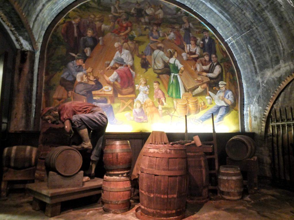 cellar at Miller Brewery