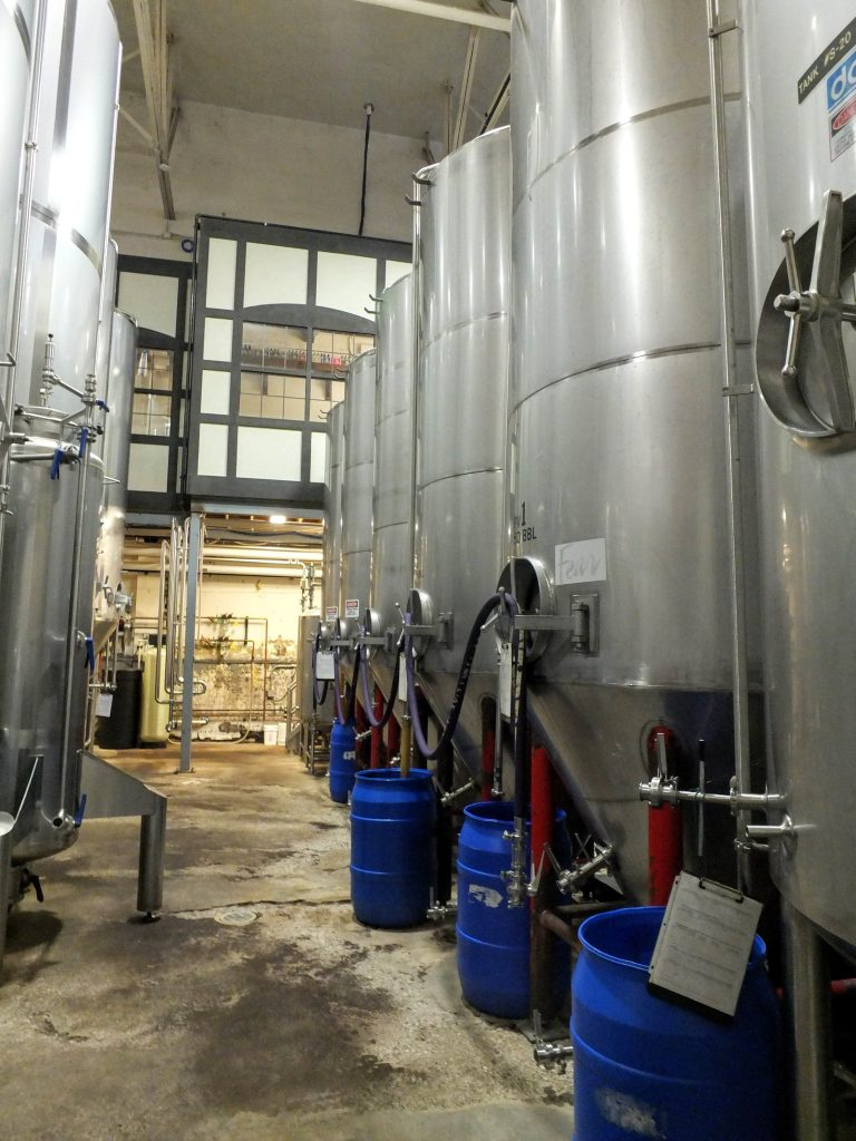 Lakefront Brewery tanks