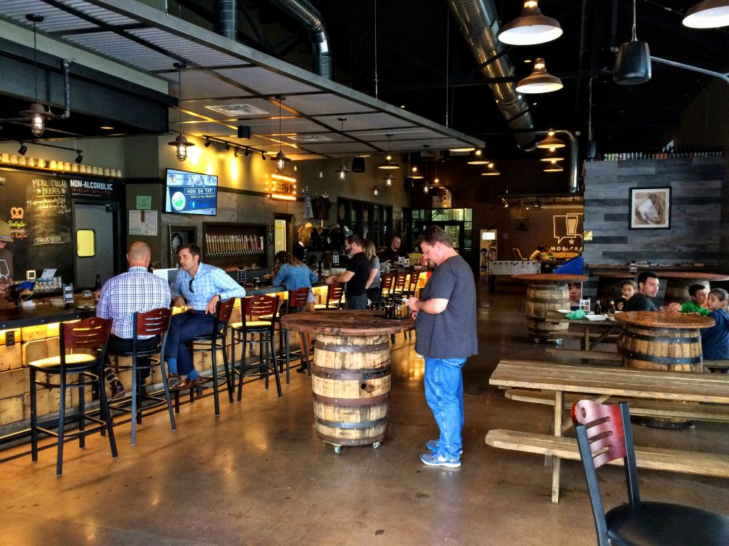 MobCraft Brewery taproom