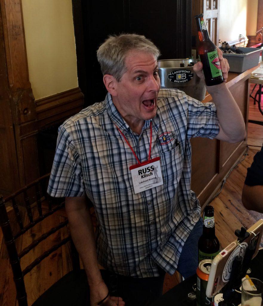 Russ Klisch of Lakefront Brewery