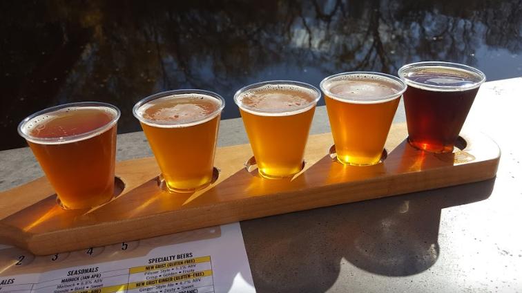 Lakefront Brewery Sampler