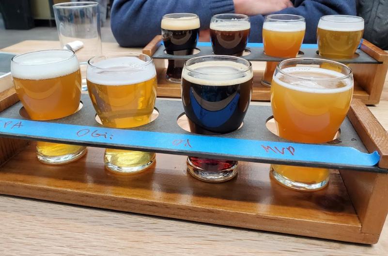 Milwaukee Brewing Company sampler