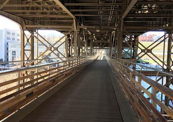 bridge on the Beerline Trail