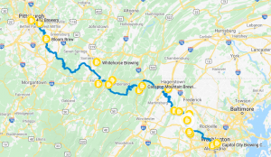 GAP - C&O Route
