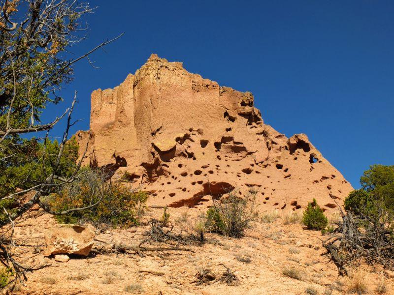 big rock face