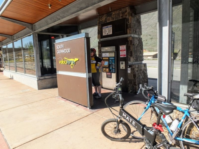 Glenwood Springs Bus Stop
