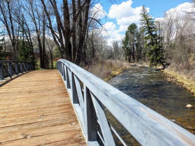 crossing the Roaring Fork