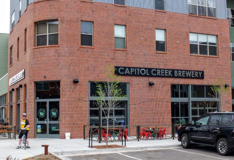 Capital Creek Brewery along the Rio Grande Trail