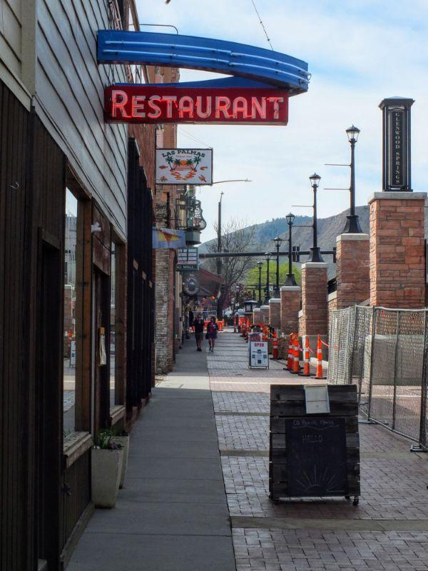 downtown Glenwood Springs