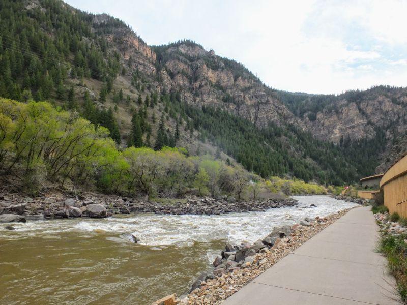 trail along the Colorado River