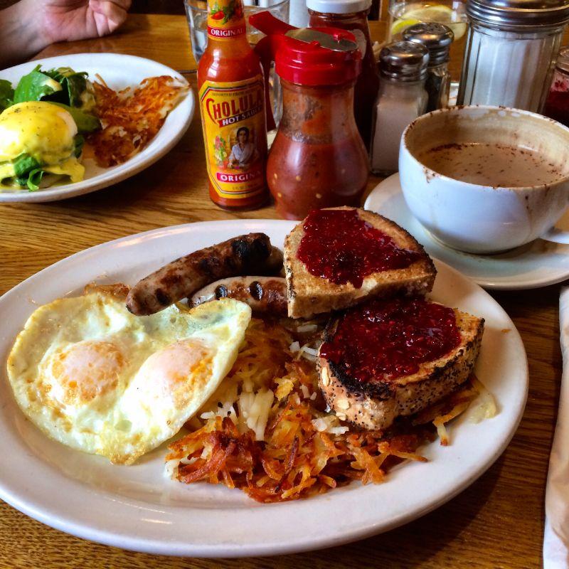 breakfast in Carbondale