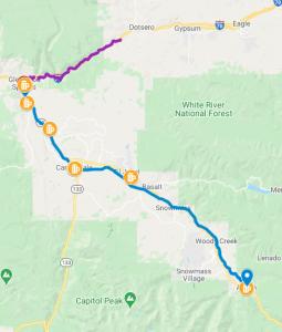 Glenwood Springs Bike Routes