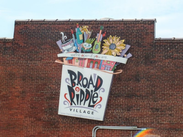 Broad Ripple is one of Indy's entertainment districts