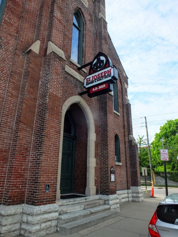 St. Joseph Brewery is in a reclaimed church