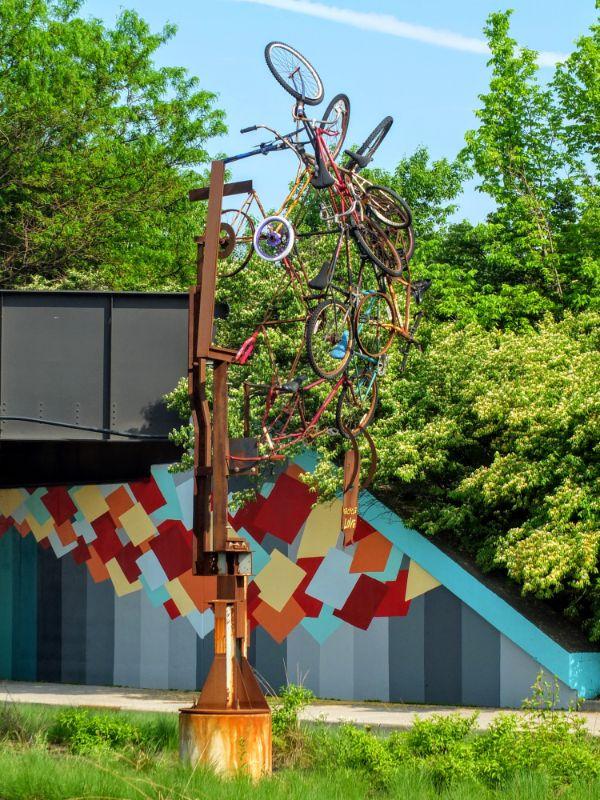 public art or a wreck?