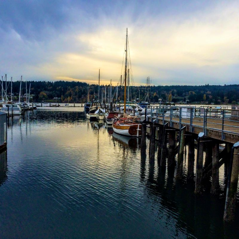 Gig Harbor stop