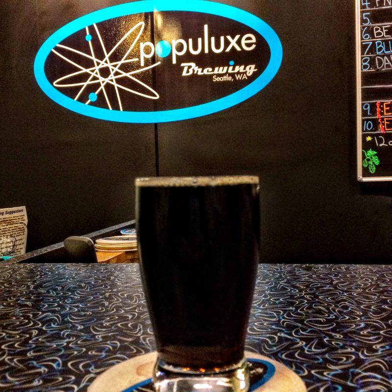 Populuxe Brewing Dark Mild