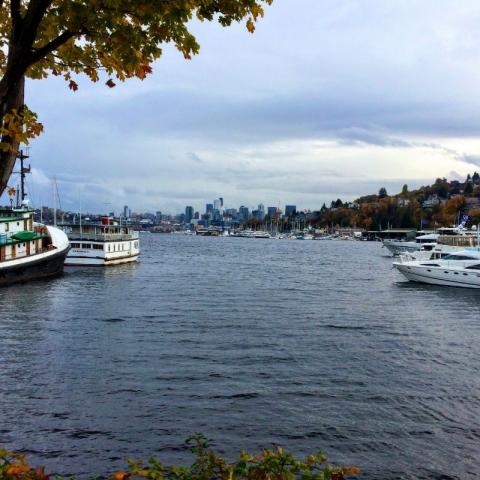 Lake Washington Boat Channel