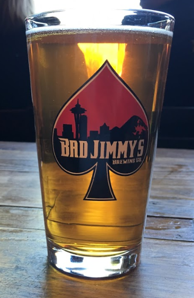 Bad Jimmy's Brewing Whale Tail Pale Ale