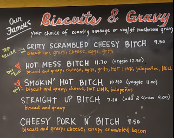 at the Biscuit Bitch - Trailer to Table Food