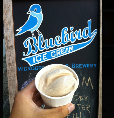 Bluebird Microcreamery & Brewery