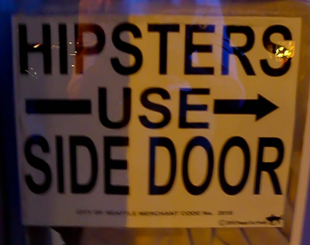 Hipster Sign