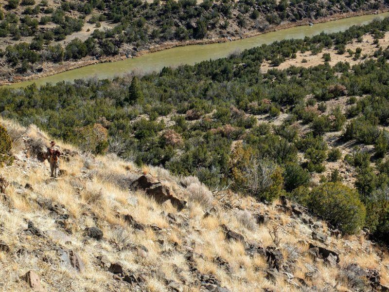 approaching the Rio Grande