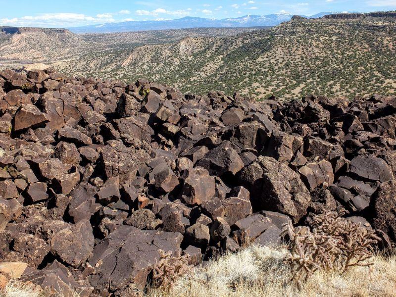 lava block pile