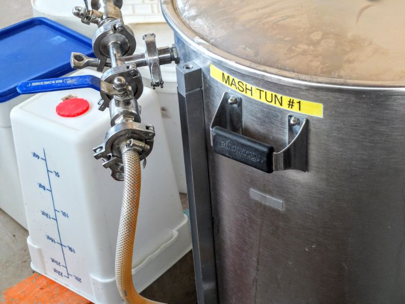 Chile Line brewhouse