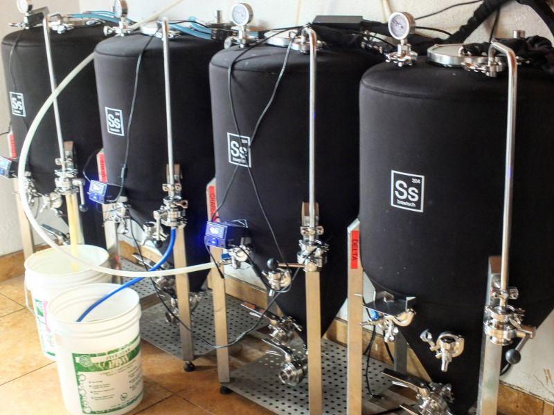 fermenters at work