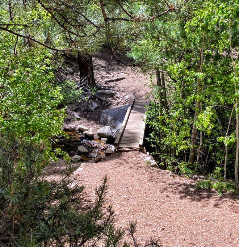 bridge below