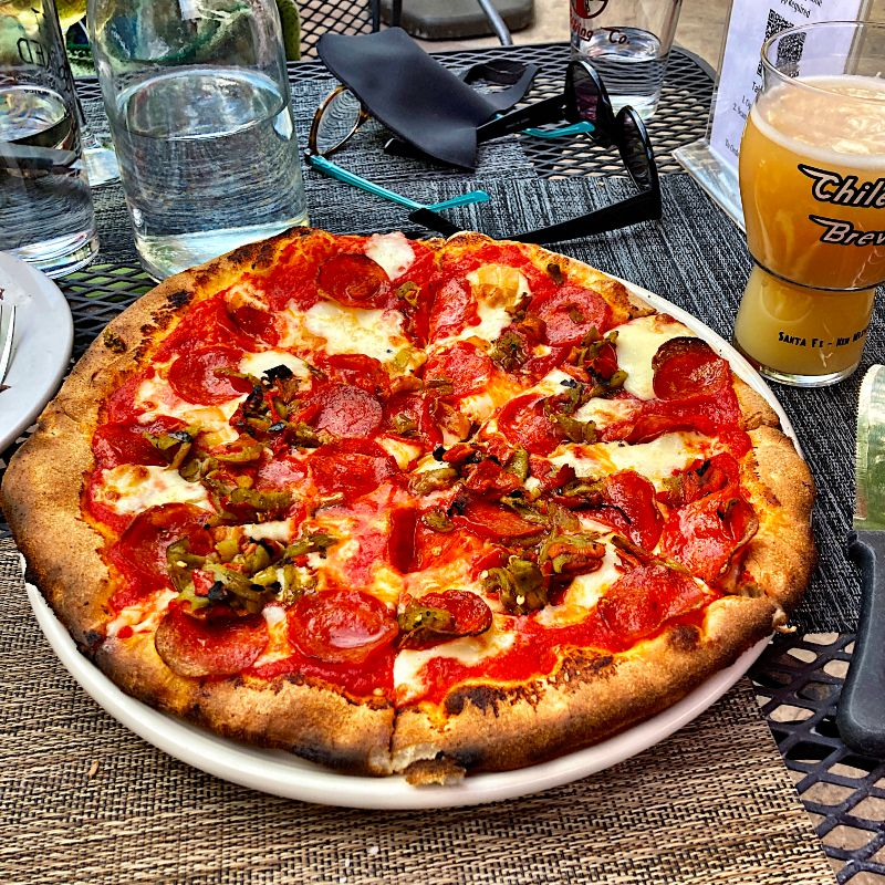 lunch pizza