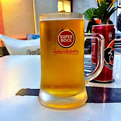 Super Bock stop on the hike