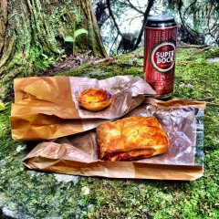 Lunch on the trail