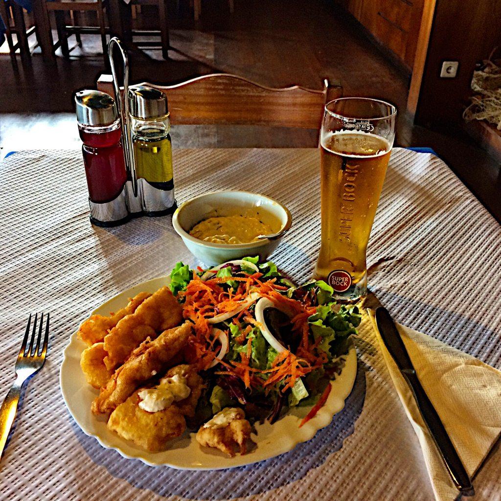 Fish Fry and a Super Bock