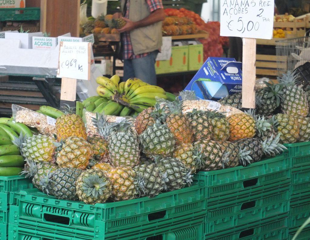 Azores Impressions - market goods