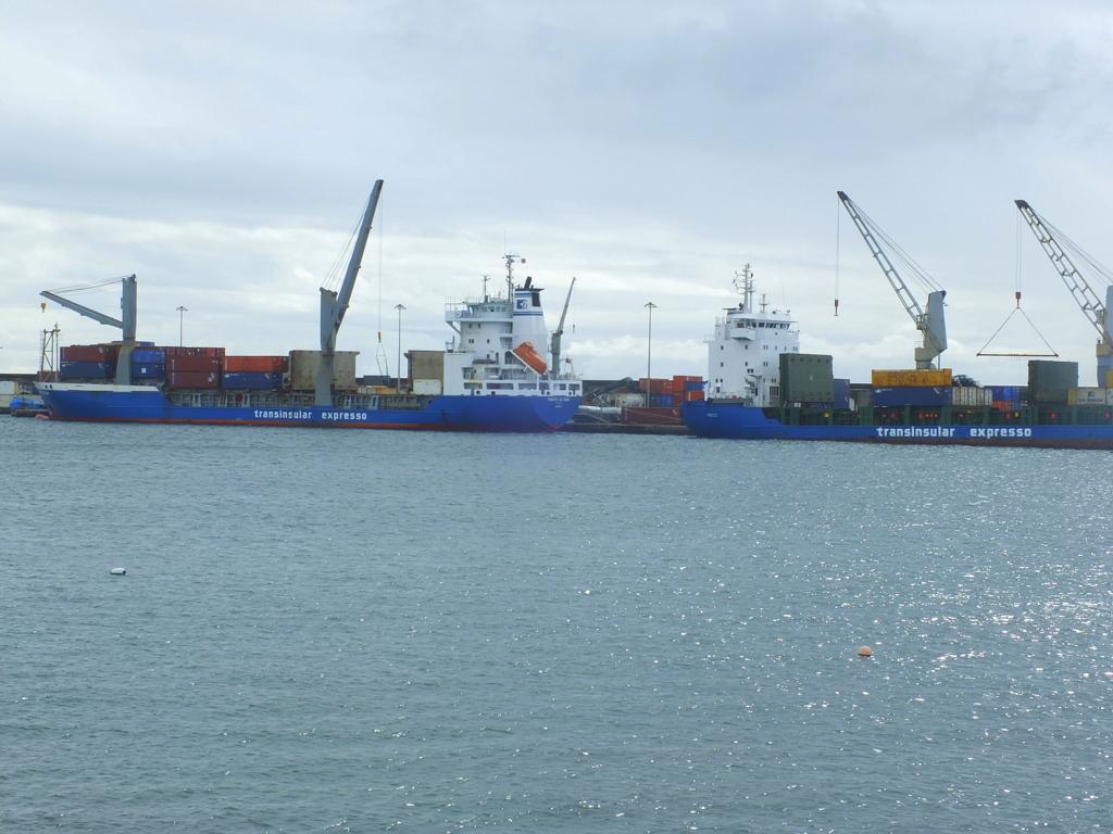 Azores Impressions - ship at Horta