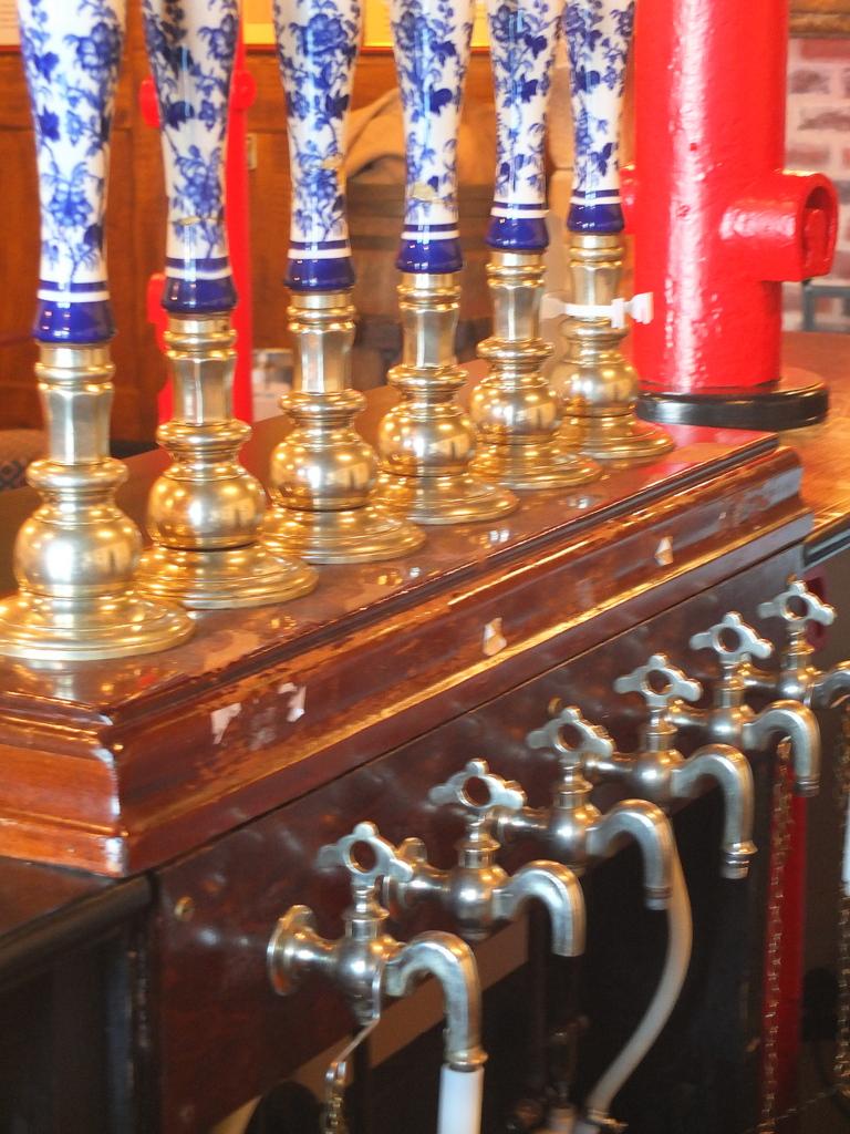 Antique cask handles
