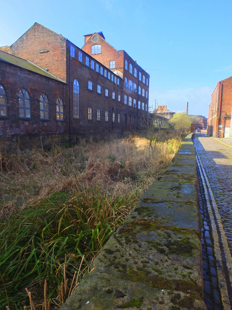 Mill race on Kelham Island