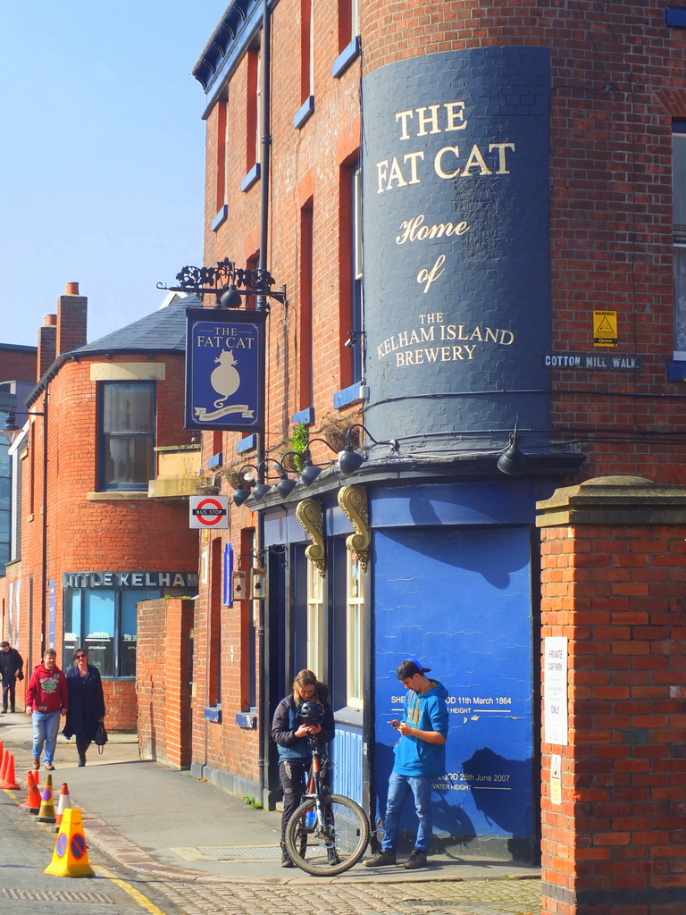 Fat Cat Pub at Kelham Island Brewery