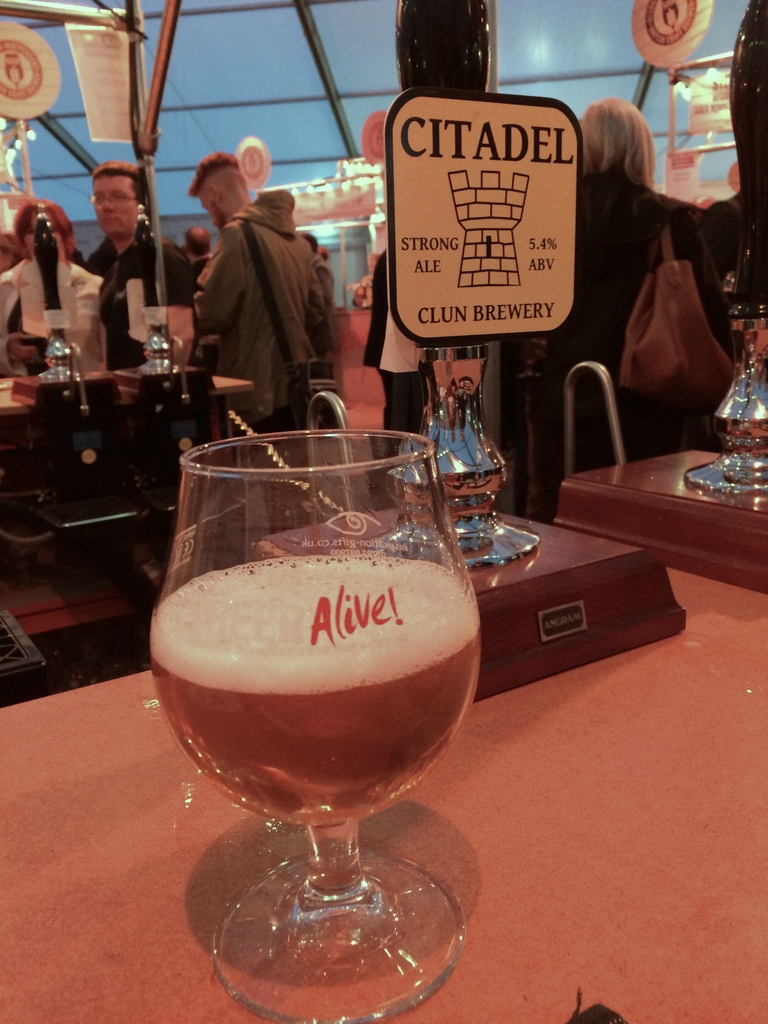 BeerAlive sampling